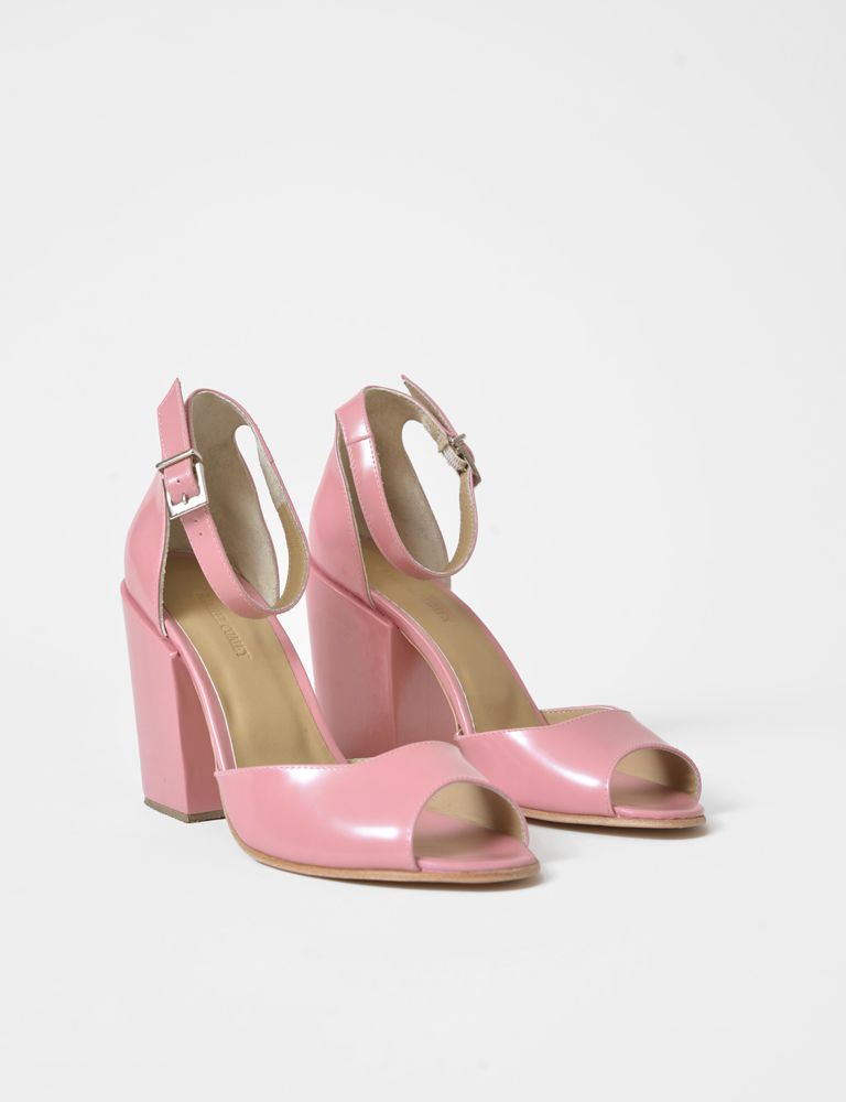 Coppa ankle strap higheel sandal