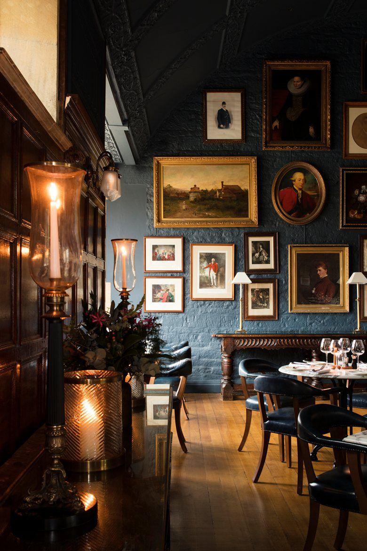 Hotel Lygon Arms Anita Rosato Pub Interior Pub Interior Design Pub Decor