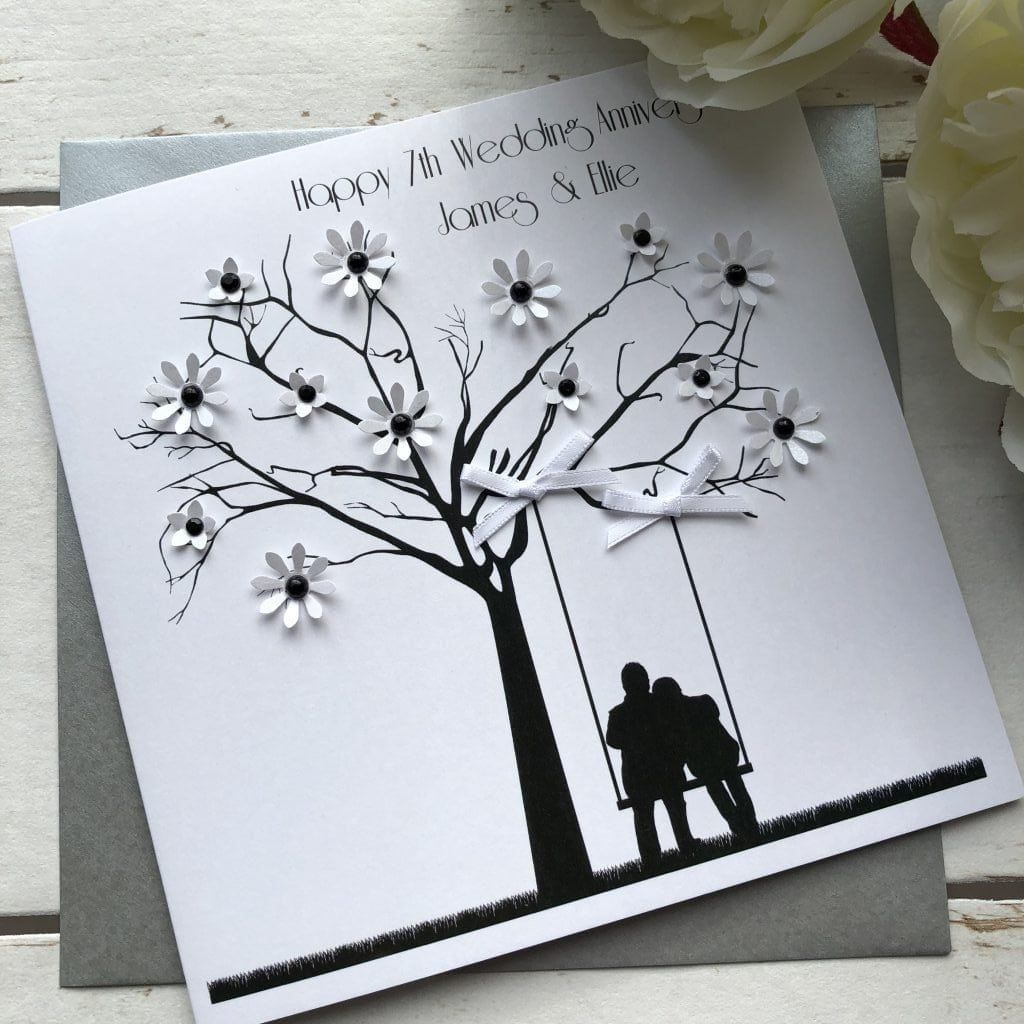 Handmade Wedding Anniversary Card Design 2019 With Images