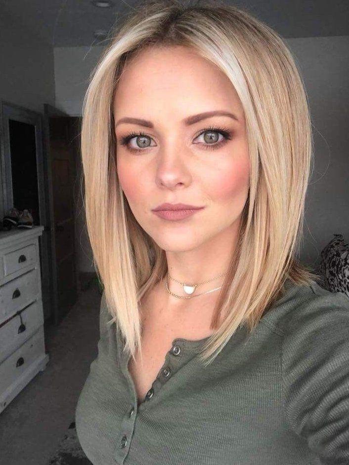 short hair for round face plus size medium lengths