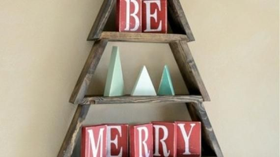 Christmas Tree Shelf #anawhite