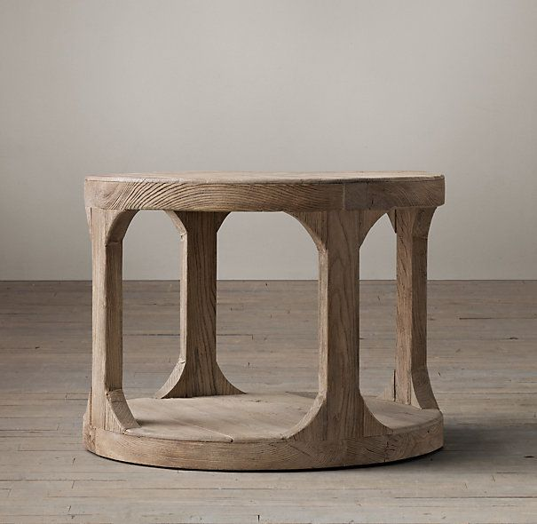 Martens Round Side Table Round Side Table Table Entry Tables