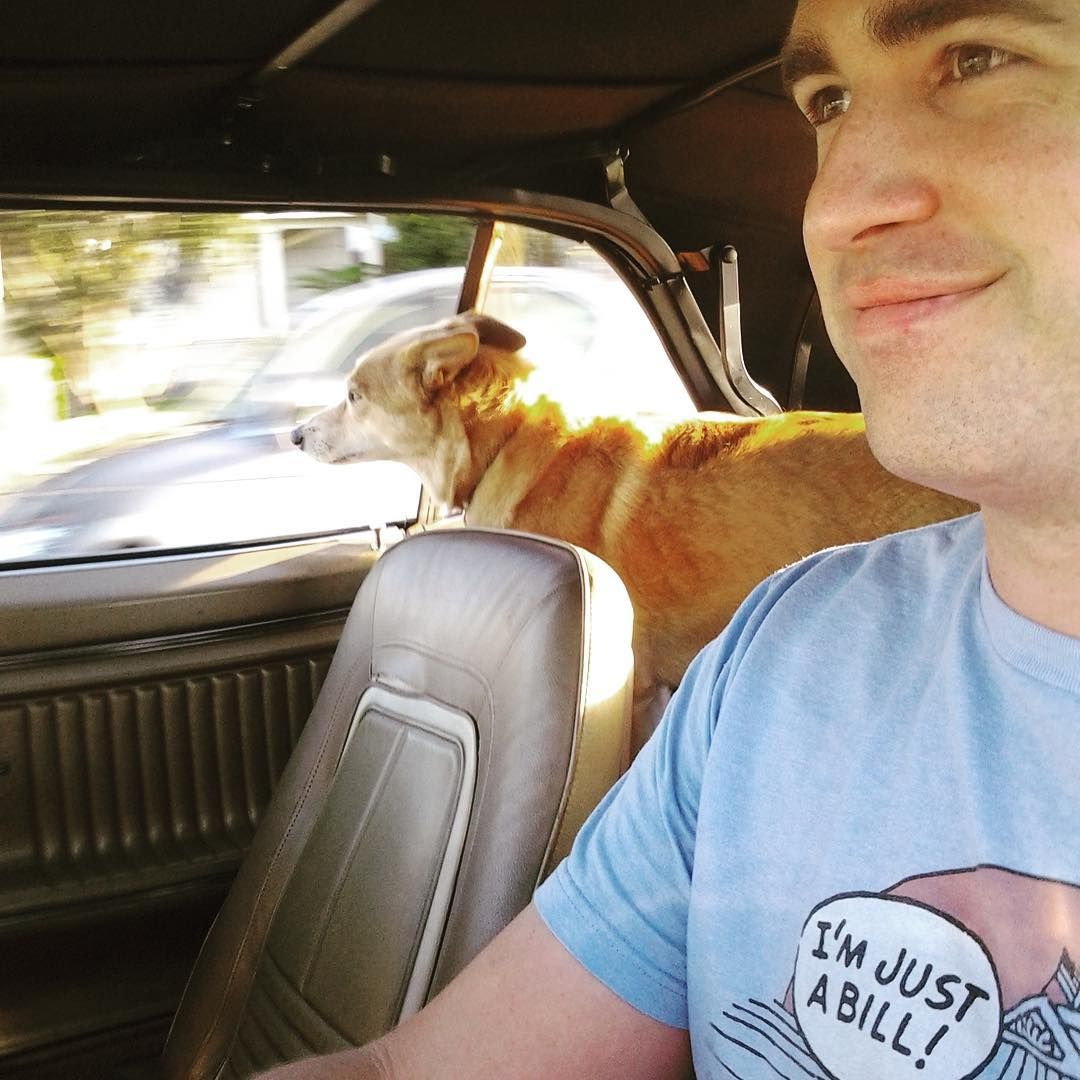 """5 Likes, 2 Comments - Bill Foley (@sannazay) on Instagram: """"Happy #nationalpuppyday to my ever-willing copilot Gracie. The only passenger who never complains…"""""""