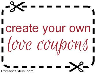create your own custom love coupons for free with our online love