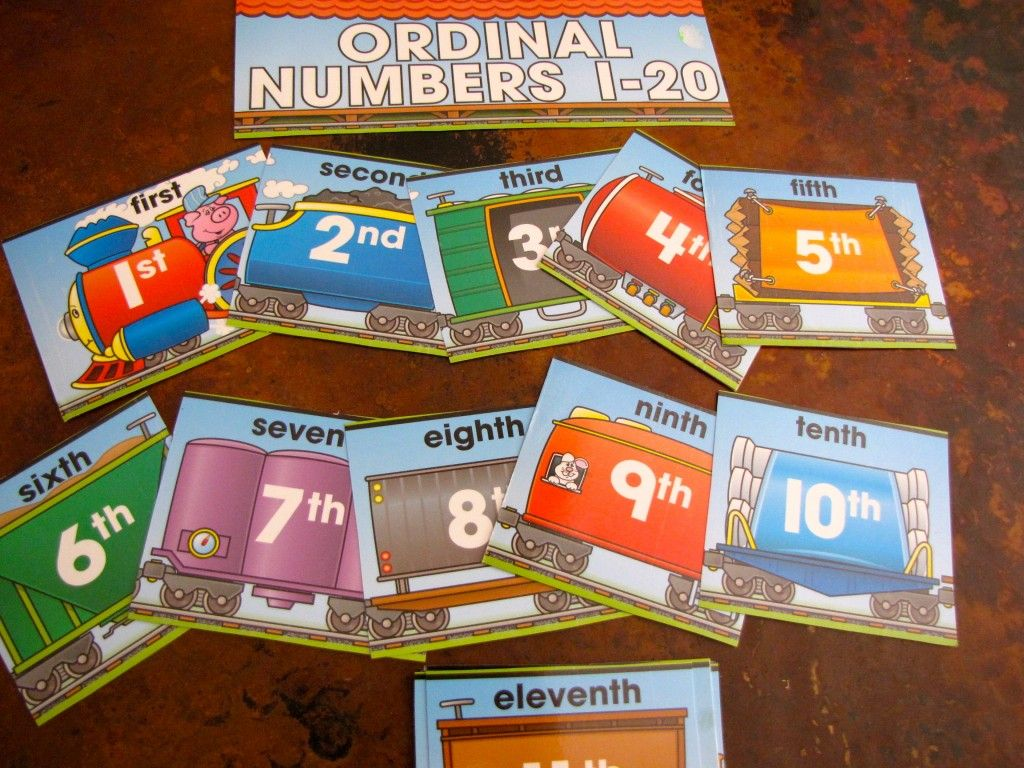 What Comes 1st Learning Ordinal Numbers Math