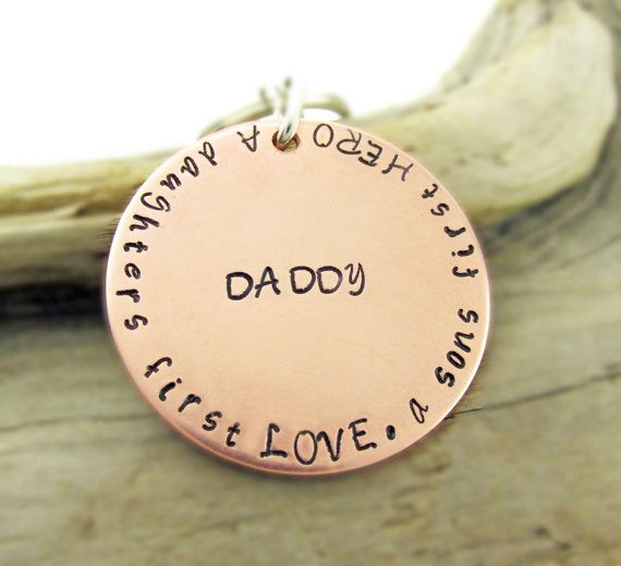 Unisex Keychain Customize for Daddy or Mommy  by TNine Design, $22.00
