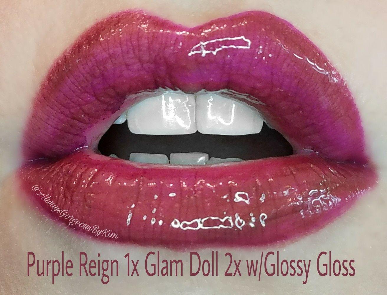 Glam Doll LipSense & 2 Glosses Glam