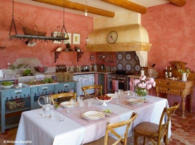 Cuisine Maison Provence Cuisine Pinterest Cuisines Maison - Decoration cuisine campagne pour idees de deco de cuisine