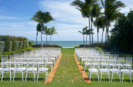 Weddings At The Ritz Carlton Key Biscayne Miami