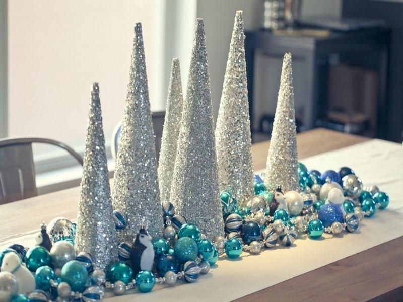 Ordinary Martha Stewart Christmas Decoration Part - 7: Martha Stewart Christmas Centerpieces | Martha Stewart Home Decorating  Ideas | Bloombety