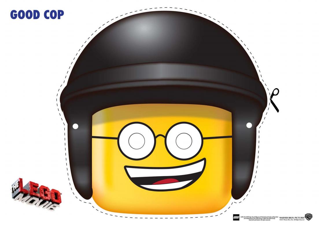 Lego la Película: Máscaras para Imprimir Gratis. | videojocs ...
