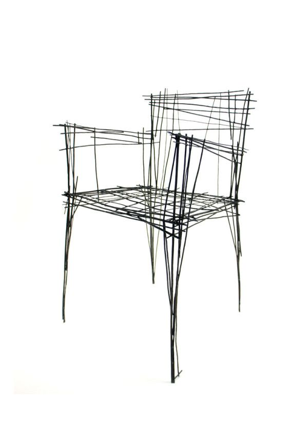 Furniture Inspired By Line Drawings Jin Il Park