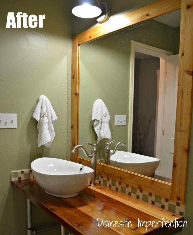 Rustic/Industrial Bathroom Vanity Rustic industrial, Vanities and