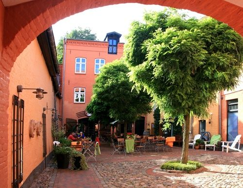 Old storehouse in Flensburg, a photo from Schleswig-Holstein, West   TrekEarth      Flensburg, Schleswig-Holstein, Germany