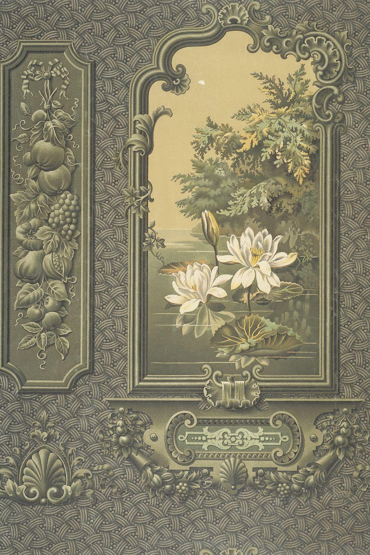 Sanitary wallpaper, 1895. Museum no. E.19431952