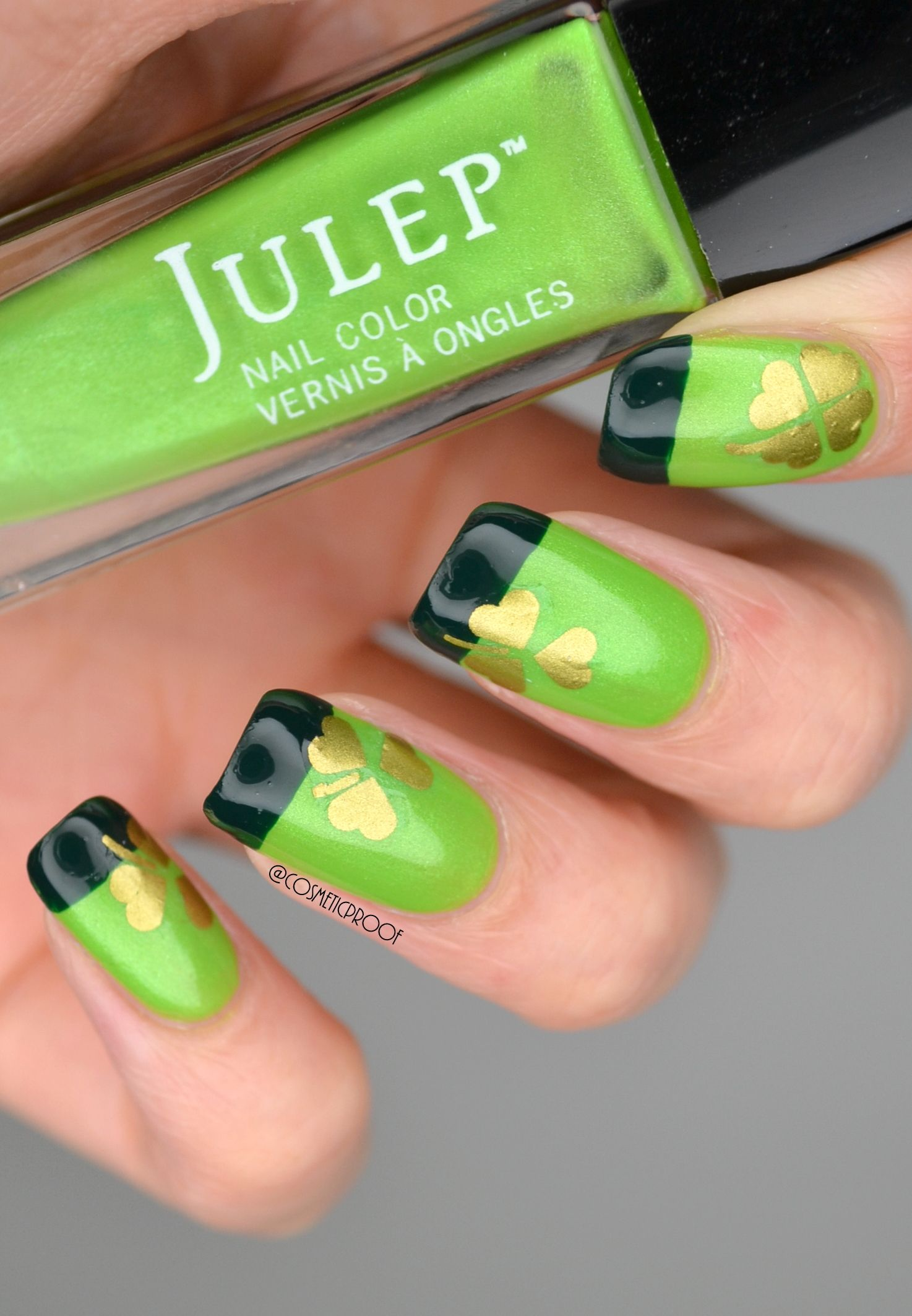 St.Patrick\'s Day Nail Art   Nails   Pinterest   Diseños de uñas y ...