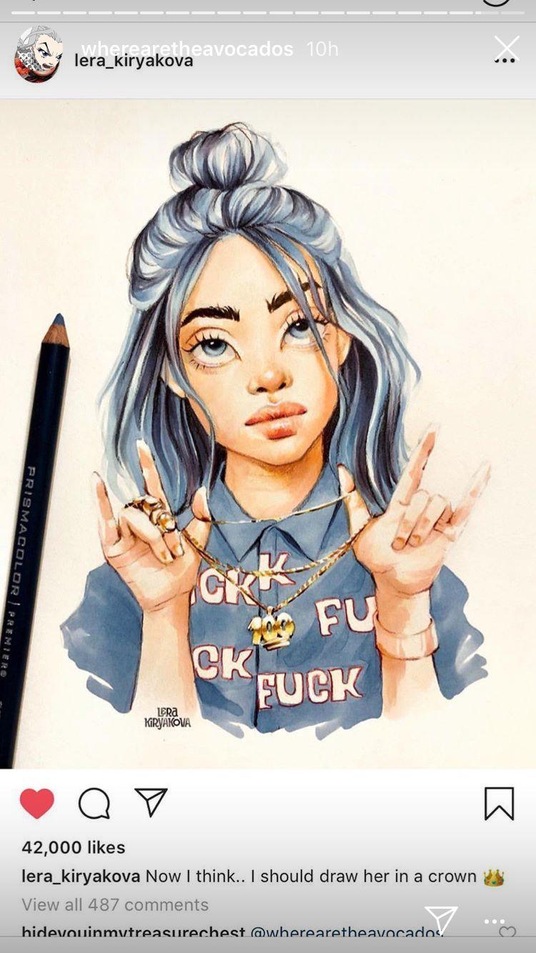 Billie Billieeilish Eilish Art Fanart With Images Billie