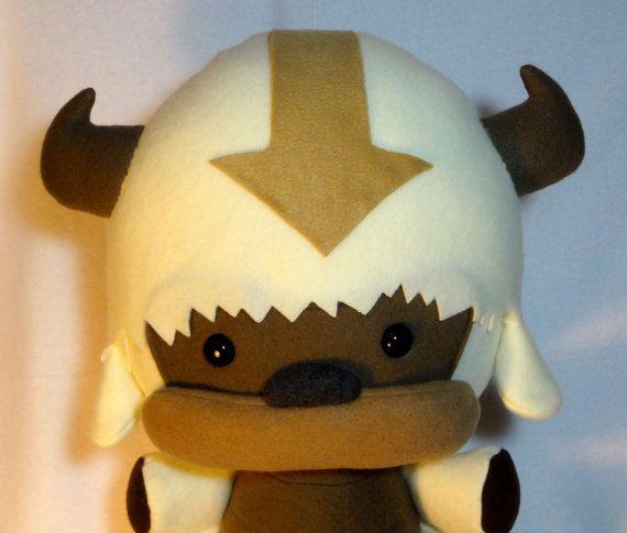 Flying Bison Plush Legend of Korra Avatar by
