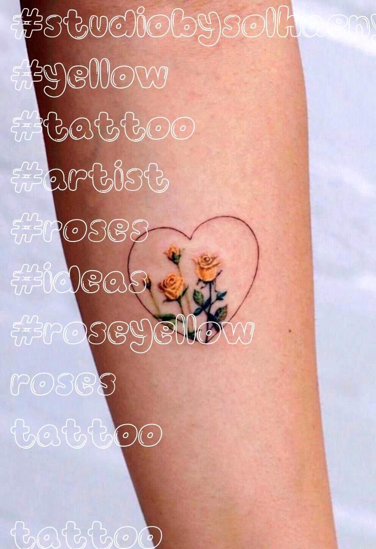 roses tattoo  tattoo artist STUDIOBYSOLHaeny   Tattoo  rose tattoo ideasyellow roses tattoo  tattoo artist STUDIOBYSOLHaeny   Tattoo  rose tattoo ideas Heart Tattoos  14...