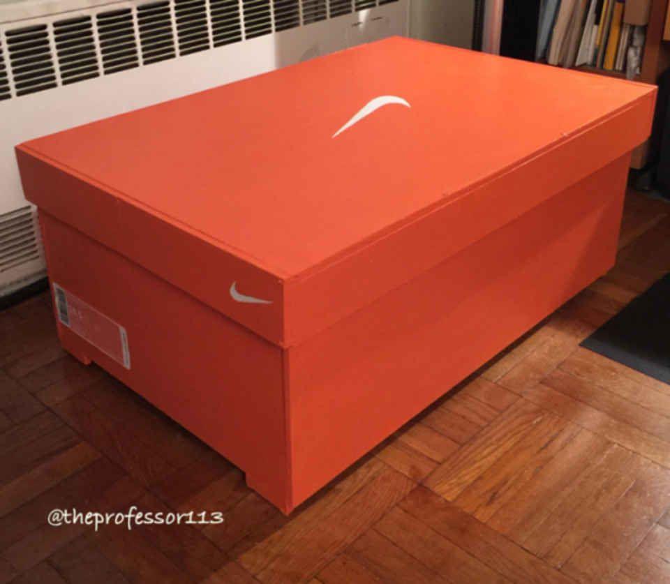 caja de zapatos nike