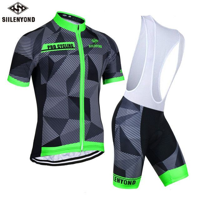SIILENYOND Gareth 100% Polyester Summer Cycling Jersey Maillot Ropa  Ciclismo Bicycle Sportswear Man s Mountain Bike c3cbe6fc4