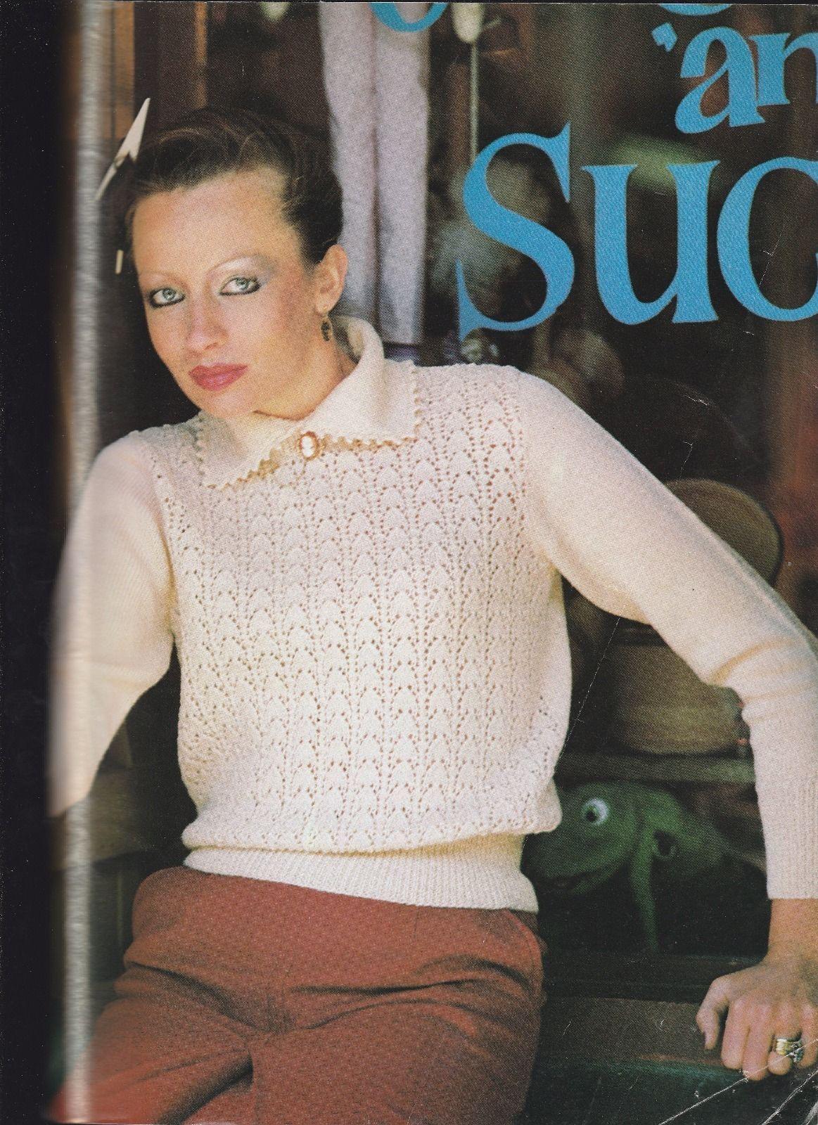 Vintage 80\'s Shepherd Knitting Pattern Book 19 designs Ladies ...