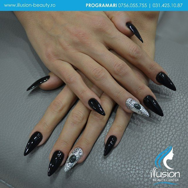Signature Nails By Elena Vasilache, Illusion Beauty. Acrylic Nails ...