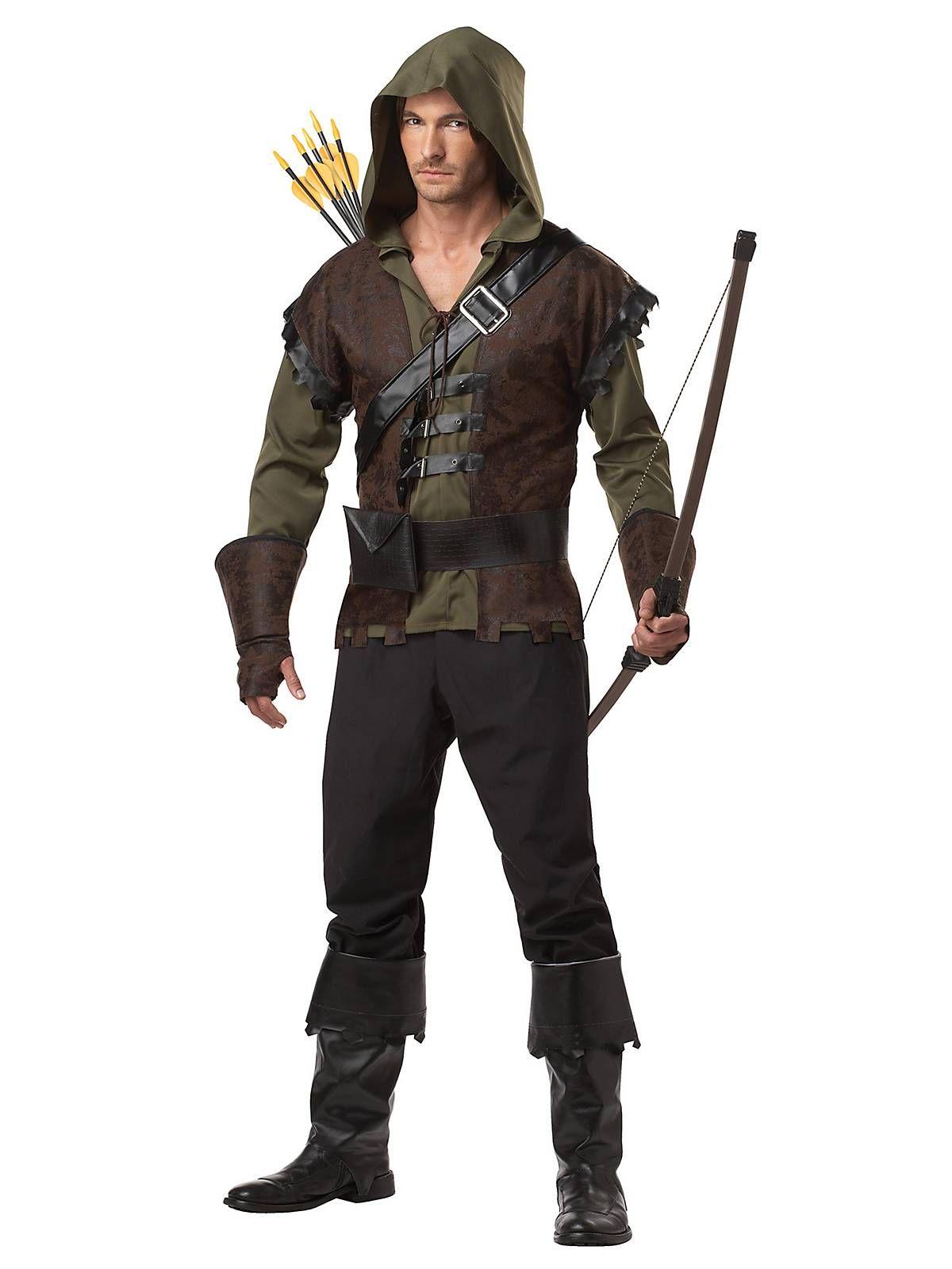 Renaissance Robin Hood Deluxe Kids Costume Set for Halloween Dress Up Party