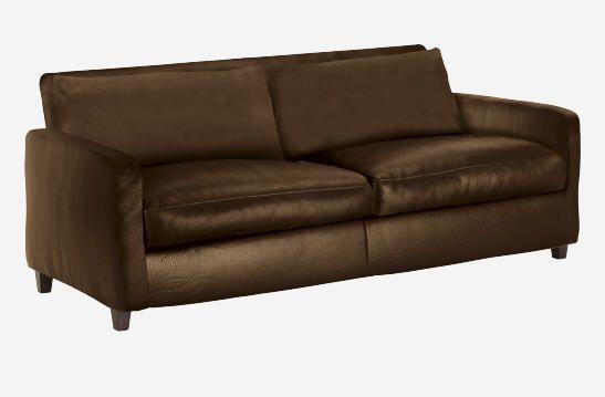 Canapé cuir Habitat, achat CHESTER canapé 3 places en cuir prix ...