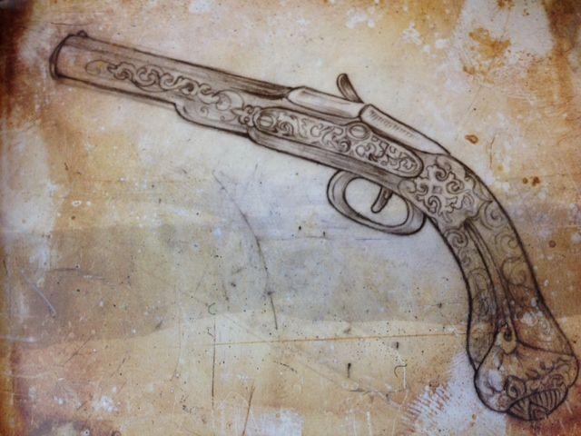 From Art-Corpus Book. Old School. Pirates. Corto Maltese. Et finesse du trait et des détails. Top.