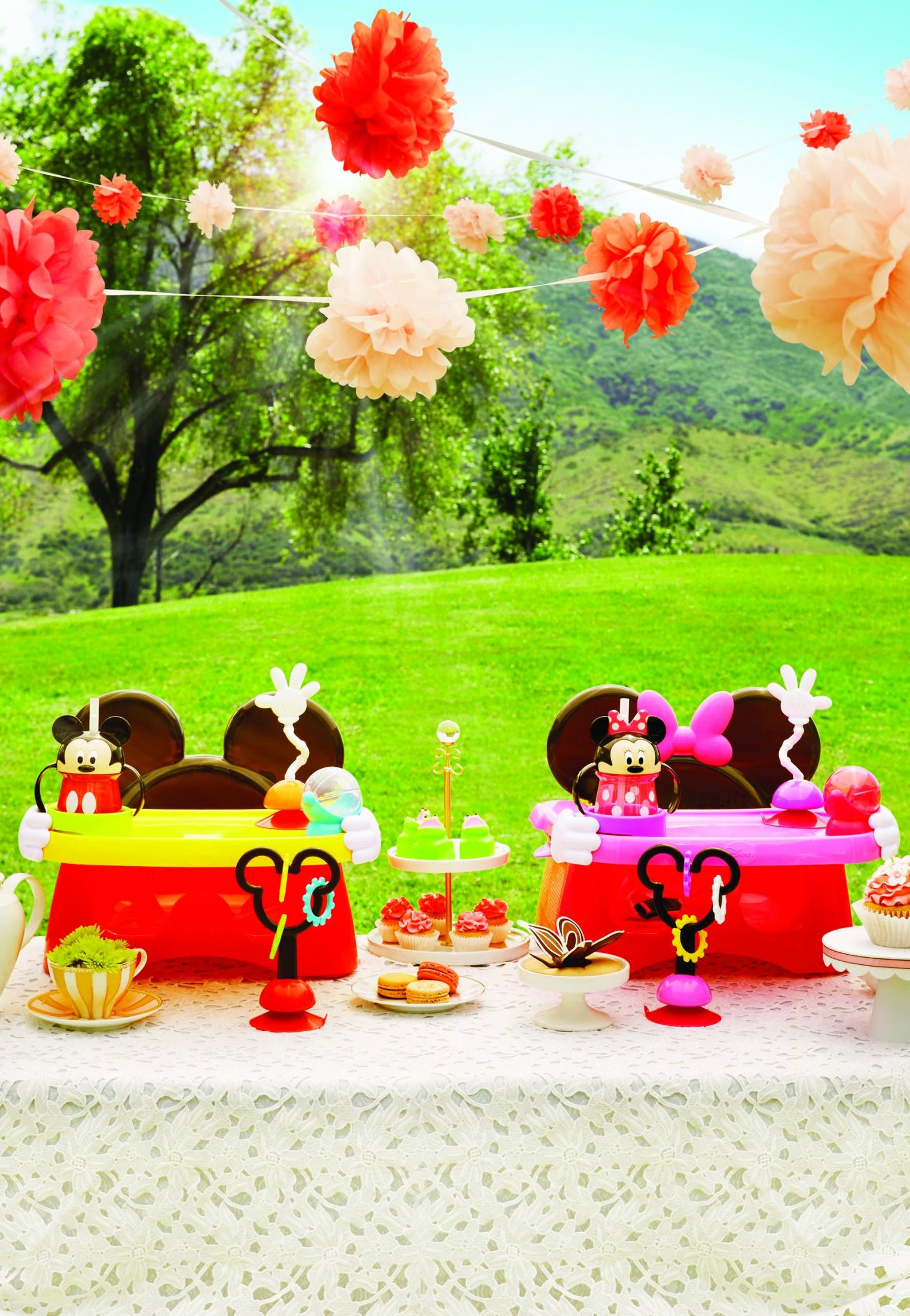 ad lifes a party with disney baby mickey minnie mouse themed accessories