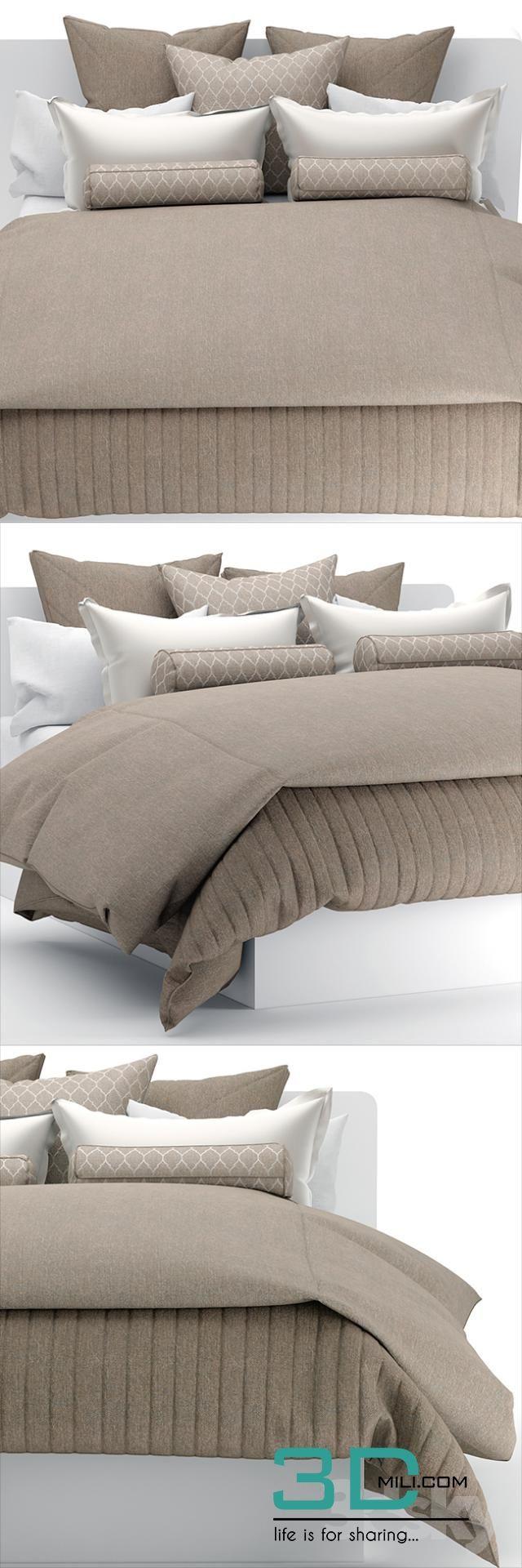 Bed 198 3d models free download