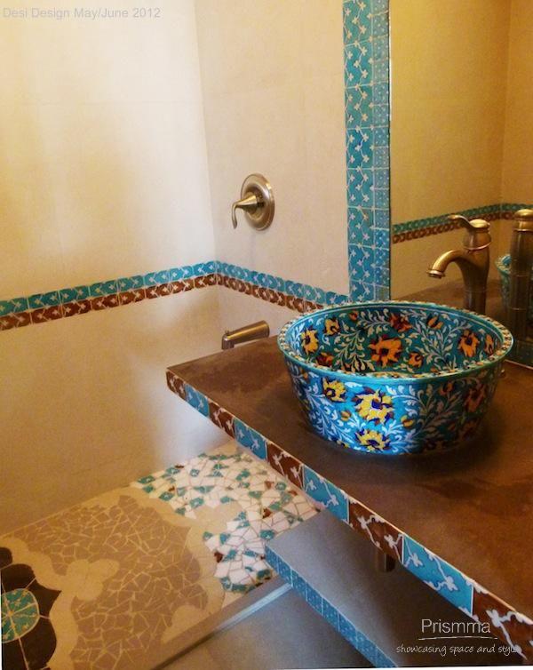 bathroom designinterior design color decorating mosaic tiles india design - Bathroom Tiles Mumbai