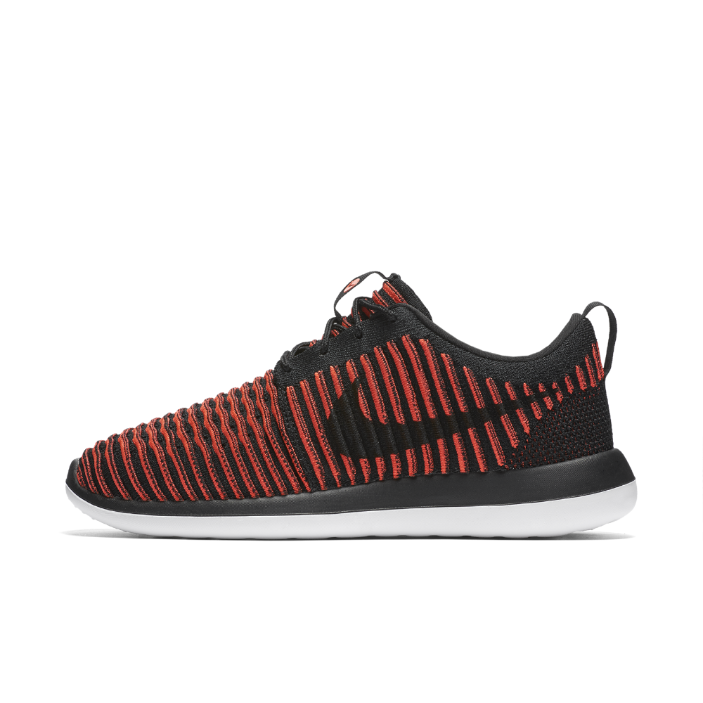 cac1fc9e9c5f1 Nike Roshe Two Flyknit Men s Shoe Size 12.5 (Black) - Clearance Sale ...