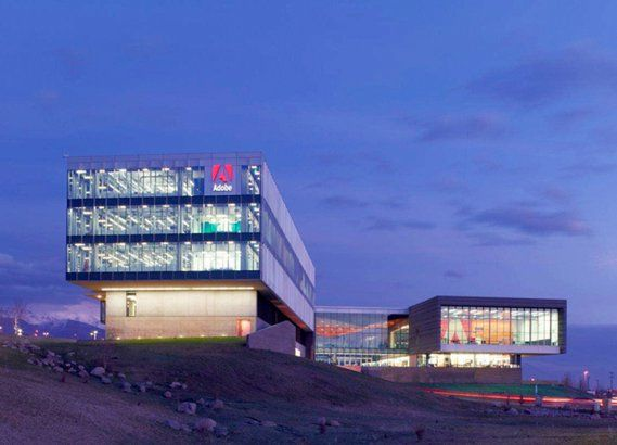 Project - Adobe Systems Utah Campus - Architizer