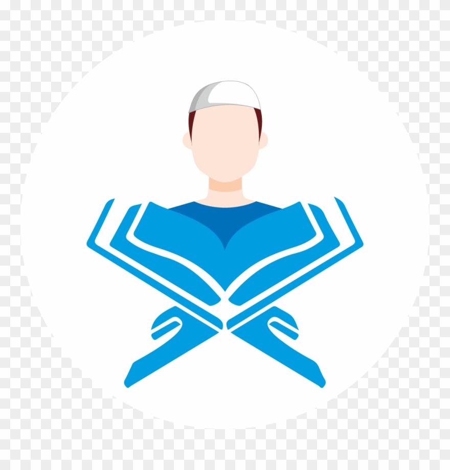 Clipart Reading Quraan Madrasa Logo Book Png Download Clip Art