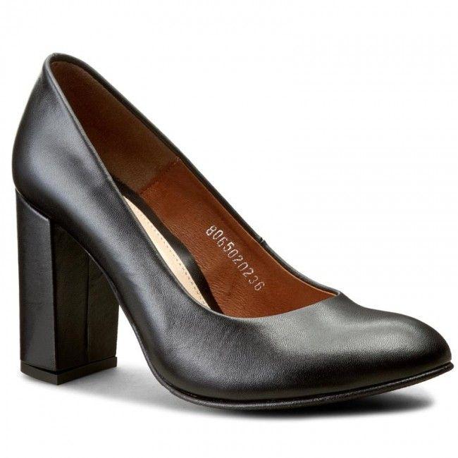 Polbuty Baldaccini 806500 0 Czarny S Heels Shoes Pumps