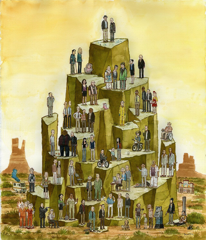 Breaking Bad Pyramid