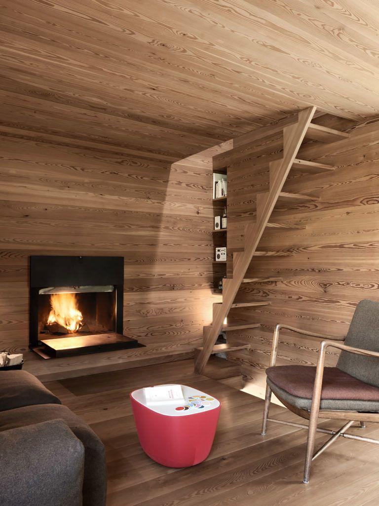 Modern Rustic Architecture Sarreyer Cabin By Rapin Saiz Gessato