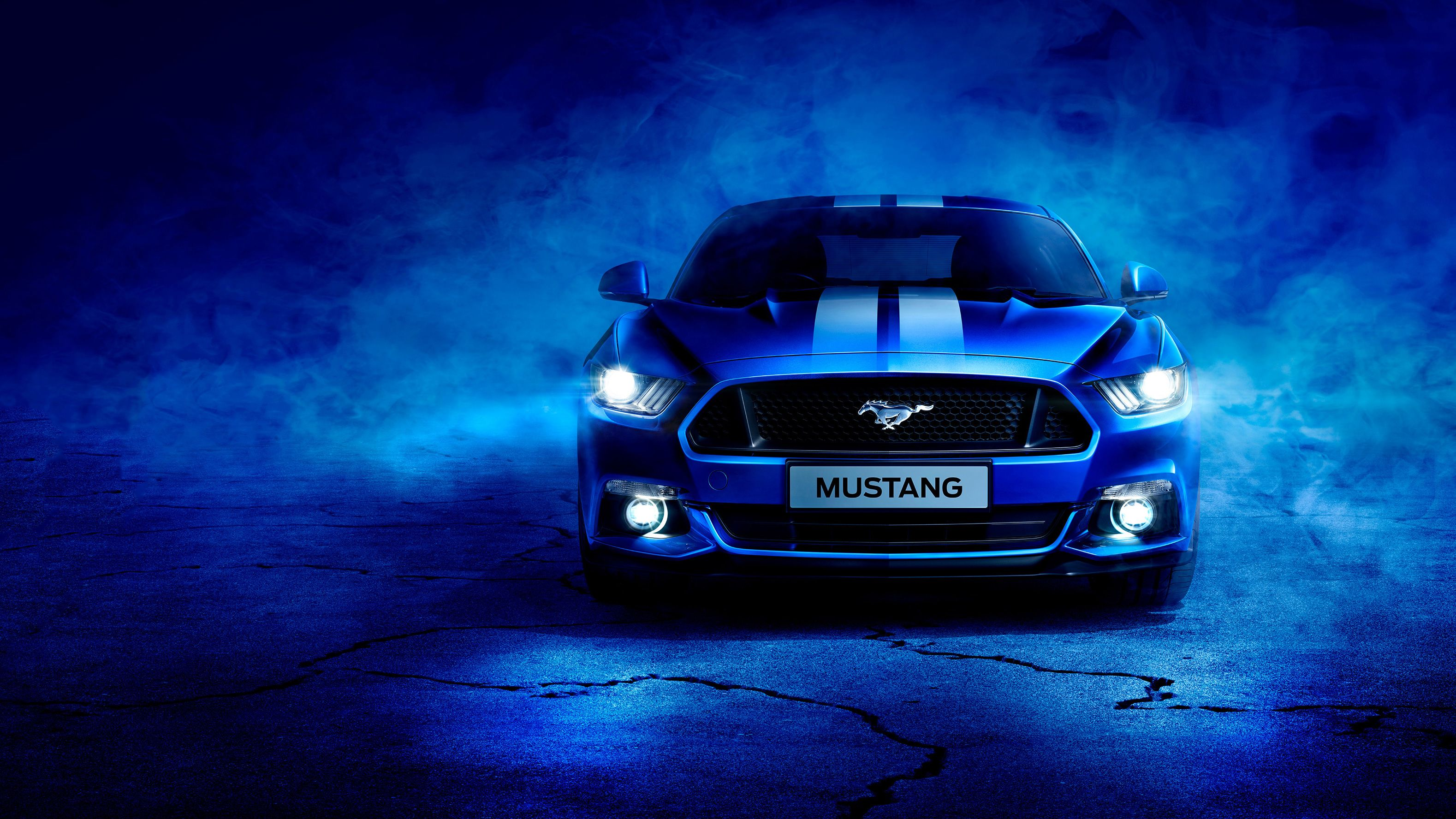 Blue Ford Mustang Blue Mustang Wallpaper 4k Is Amazing Hd Wallpapers For Desktop Or Mobile Explore More Related In 2020 Mustang Wallpaper Ford Mustang Blue Mustang