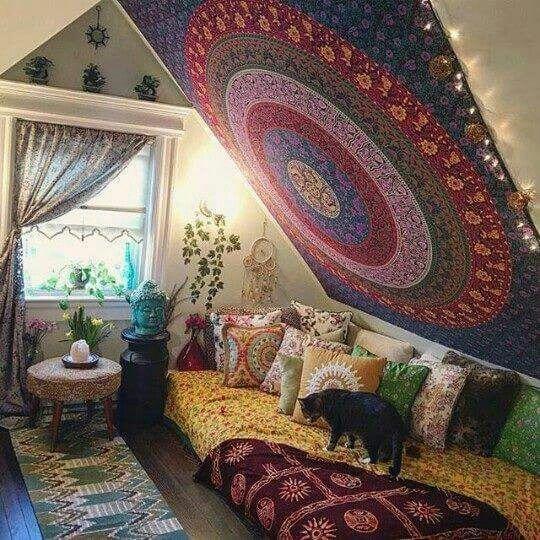 American Hippie Bohéme Boho Lifestyle ☮ | Déco maison ...