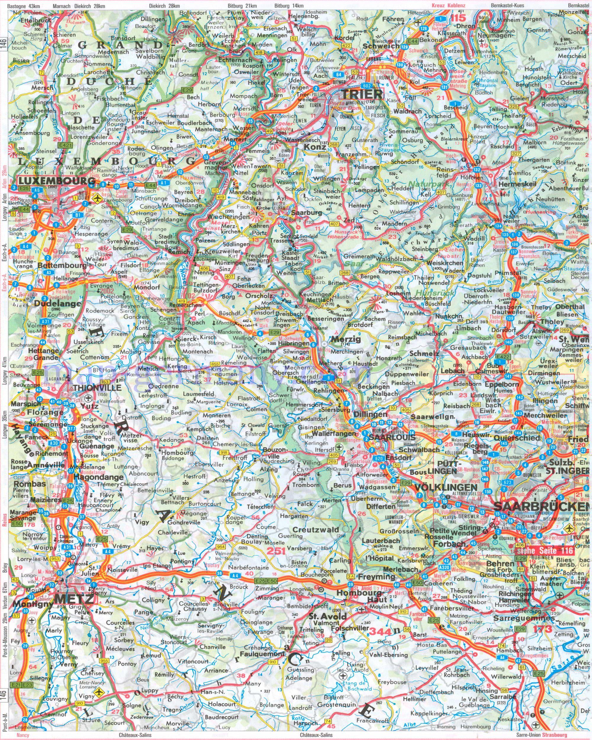 Rhineland Palatinate Germany Map See more at httpwww