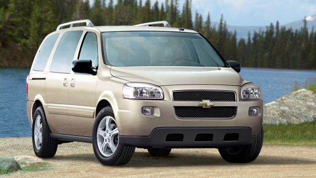 The Ten Worst Cars Gm Ever Built Chevrolet Uplander Chevrolet