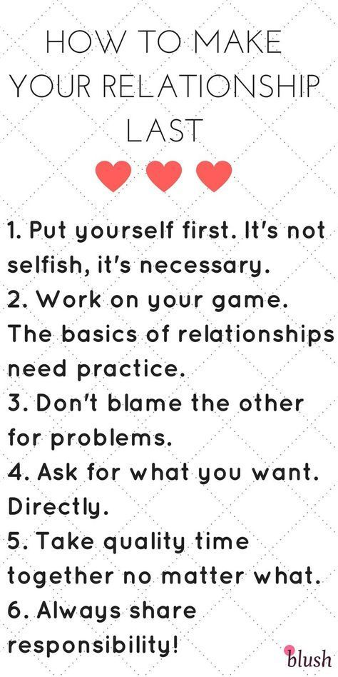 What are the basics of a relationship?