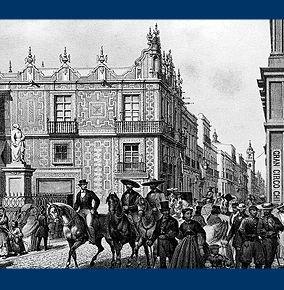 Casa de los azulejos mexico city mexico blanco y negro for Historia de sanborns