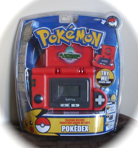 NEW Pokemon Electronic Talking Deluxe Pokedex Jakks Pacific 2007 VHTF NIP RARE