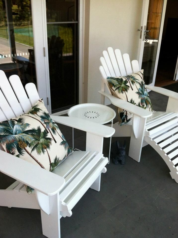Cape Cod Chairs At Customeru0027s Melbourne Bayside Location. Cool Cushions!  Www.theporch.com.au