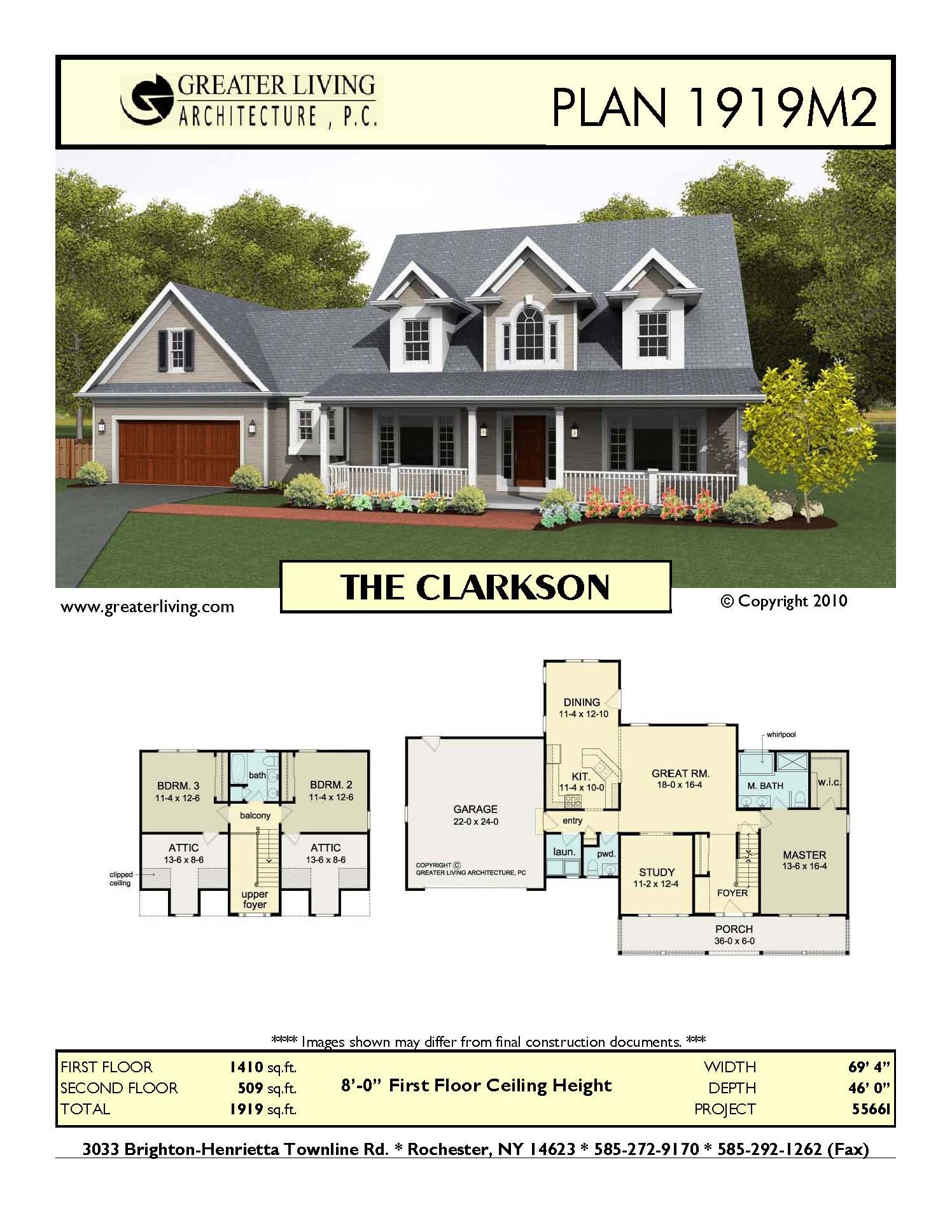 Plan 1919M2: THE CLARKSON | home designs | Pinterest | Architecture ...