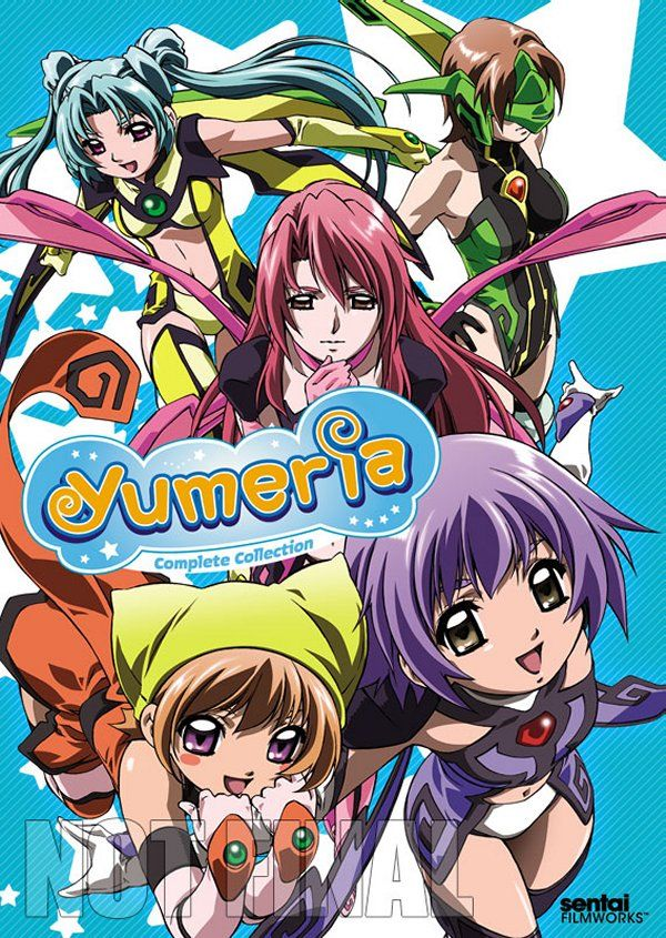 Yumeria Complete Collection Anime DVD Review Anime dvd