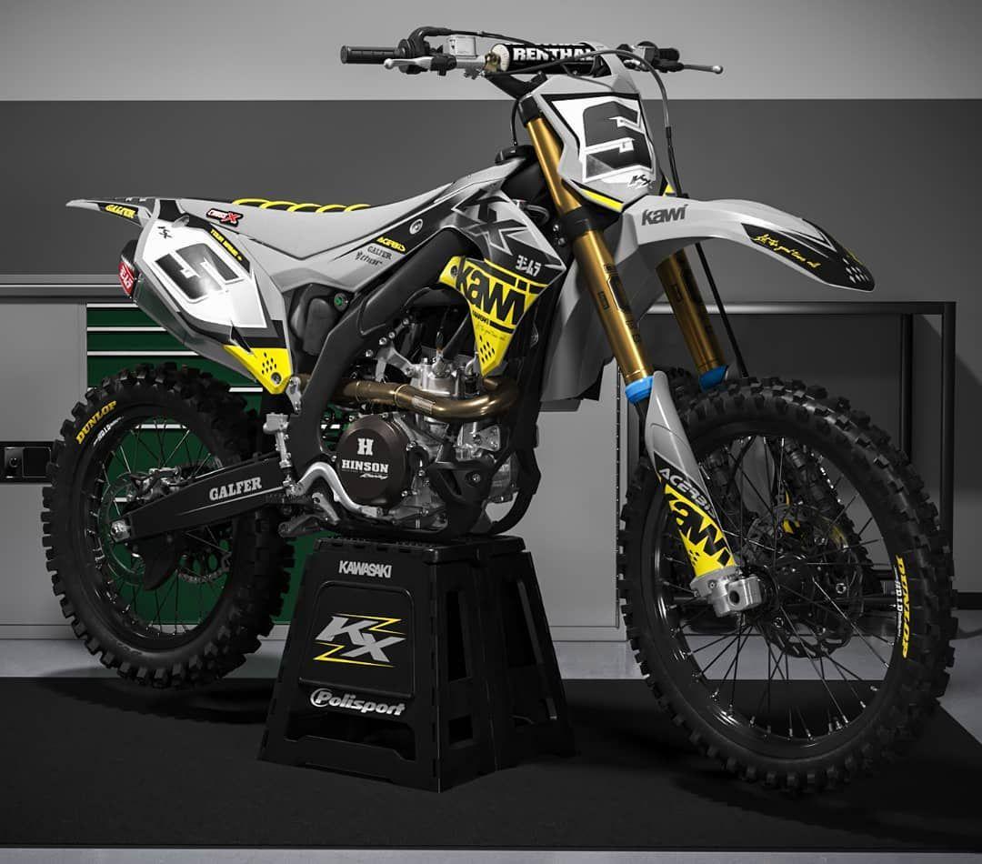 Kawasaki Kx Motorcross Bike Ktm Dirt Bikes Custom Dirt Bike